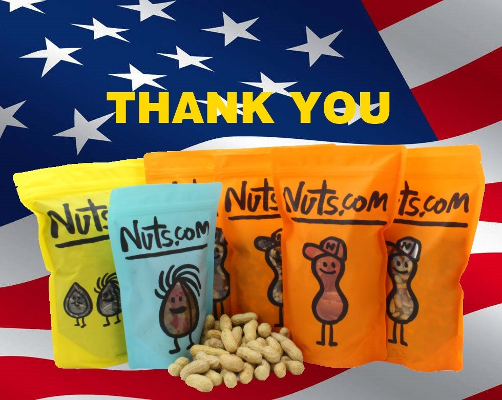 NUTS for Our Troops | Gifts | Nuts com